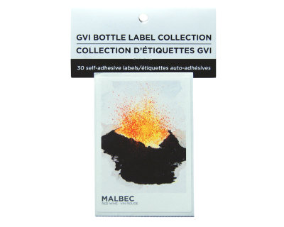 GVI Sticker Labels - Malbec