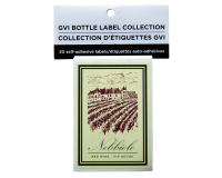 GVI Printed Wine Sticker Labels - Nebbiolo