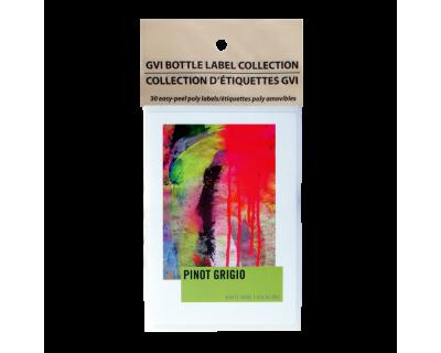 GVI Sticker Labels - Pinot Grigio