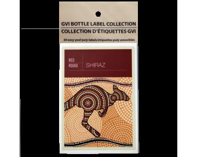 GVI Sticker Labels - Shiraz