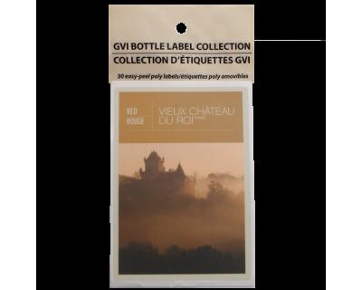 GVI Sticker Labels - Vieux Chateau Du Roi