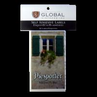 SPECIAL OFFER - GVI Printed Wine Sticker Labels - Piesporter