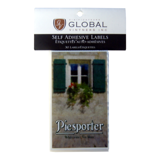 SPECIAL OFFER - GVI Printed Wine Sticker Labels - Piesporter