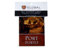 SPECIAL OFFER - GVI Printed Wine Sticker Labels - Port