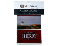 SPECIAL OFFER - GVI Printed Wine Sticker Labels - Sherry