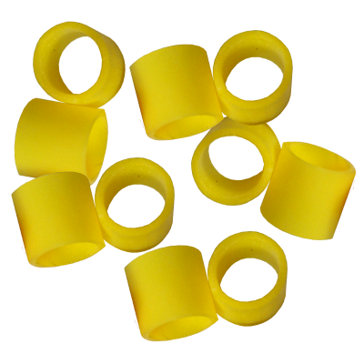 Yellow Rubber Seals For Hambleton Safety Valve - Pack Of 10