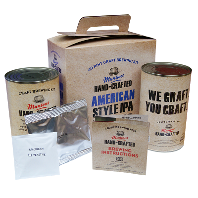 Muntons Hand Crafted 3.5kg - American Style IPA