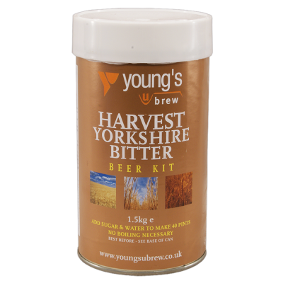 SPECIAL OFFER - Youngs Harvest Yorkshire Bitter - 40 Pint Ingredient Kit - Dented Tin