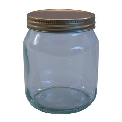 Traditional Honey Jars With Screw On Lids - Pack Of 6