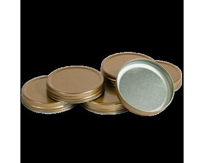 Pack Of 6 Screw On Lids For Honey Jars