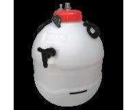 Balliihoo King Keg Premium Barrel With Co2 Injection Valve & Pressure Indicator