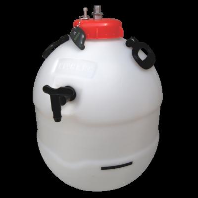 Balliihoo King Keg Premium Barrel With Co2 Pressure Top Up Valve & Pressure Indicator