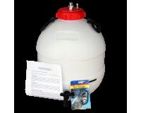 King Keg Bottom Tap 5 Gallon Pressure Barrel With Balliihoo Cap & Pressure Indicator