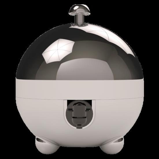 Laboul Designer Bag In Box Wine Dispenser - 3L Silver Night / Chrome