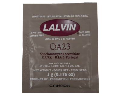 Lalvin White Wine Yeast QA23