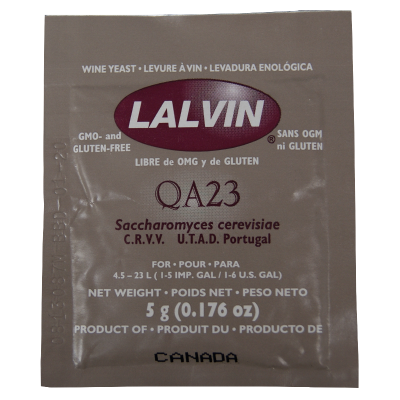 Lalvin White Wine Yeast QA23