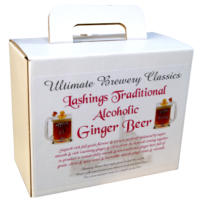 Lashings Traditional Alcoholic Ginger Beer - 3kg