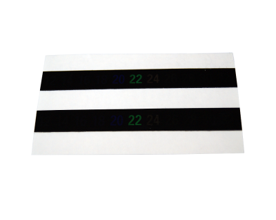 Stick On LCD Thermometer Strip  - Pack Of 2