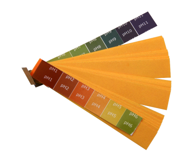 pH - Acid Test - Litmus Papers - Book of 20 Strips