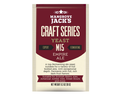 Mangrove Jacks M15 Empire Ale Yeast