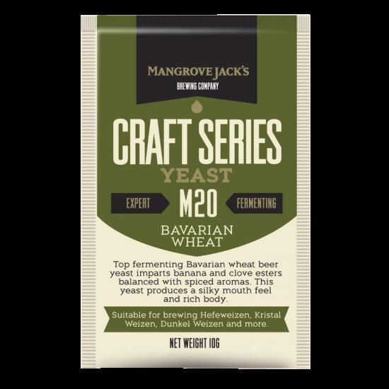Mangrove Jack M20 Bavarian Wheat Yeast
