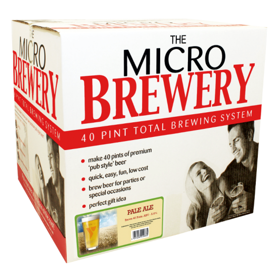 SPECIAL OFFER - Youngs Micro Brewery - American Pale Ale - 40 Pint Starter Set