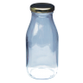 Traditional Apple / Orange Juice Bottle With Twist Lid - 250ml  x 12