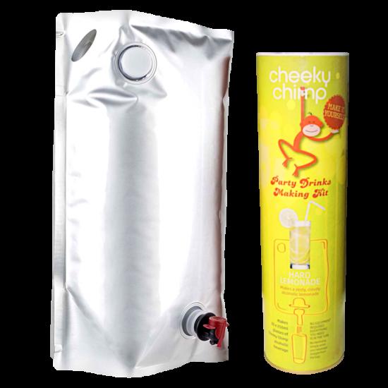Cheeky Chimp - Party Drinks Making Kit - Hard Lemonade