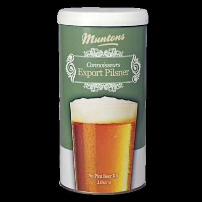 SPECIAL OFFER - Muntons Connoisseur Export Pilsner - 40 Pint Ingredient Kit - Dented Tin
