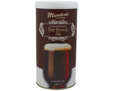 Muntons Connoisseurs 1.8kg - Nut Brown Ale