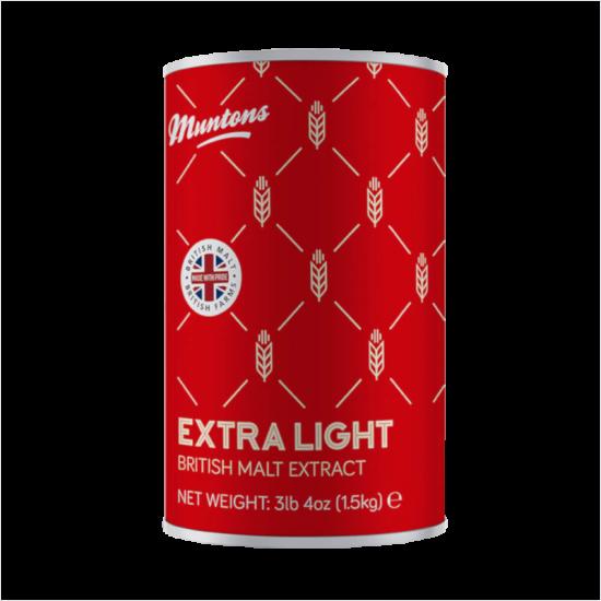 Muntons Liquid Malt Extract - LME - 1.5kg - Extra Light