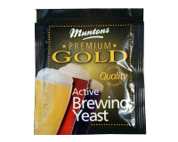 Muntons Premium Gold Active Brewing Yeast - 6g Sachet