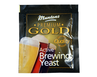 Muntons Premium Gold Active Brewing Yeast - 6g Sachet