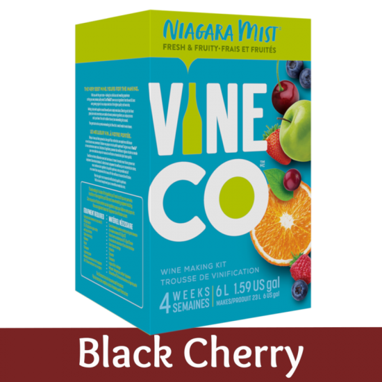 Niagara Mist 30 Bottle Light Wine Ingredient Kit - Blackcherry