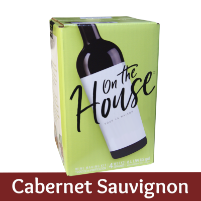 On The House - 30 Bottle Wine Ingredient Kit - Cabernet Sauvignon