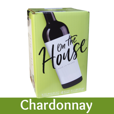 On The House - 30 Bottle Wine Ingredient Kit - Chardonnay