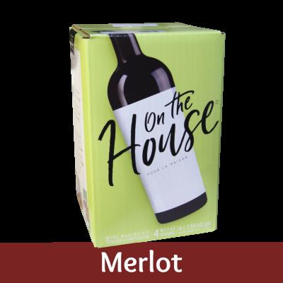 On The House - 30 Bottle Wine Ingredient Kit - Merlot