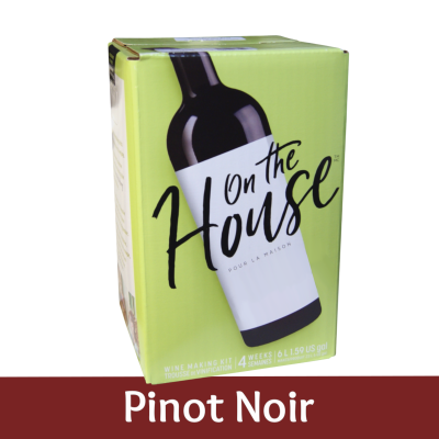 On The House - 30 Bottle Wine Ingredient Kit - Pinot Noir