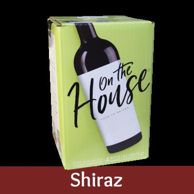 On The House - 30 Bottle Wine Ingredient Kit - Shiraz