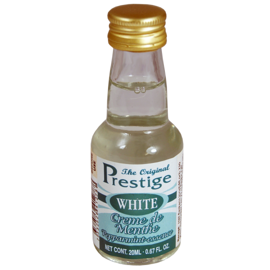 SPECIAL OFFER - Prestige 20ml White Creme De Menthe Peppermint Liqueur Essence - Short BBE
