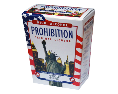Prohibition Apricot Brandy - High Alcohol Liqueur Ingredient Kit
