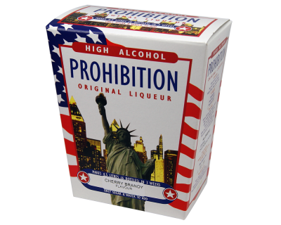 Prohibition Cherry Brandy - High Alcohol Liqueur Ingredient Kit