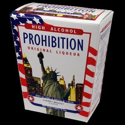 Prohibition Cherry Brandy - High Alcohol Liqueur Ingredient Kit