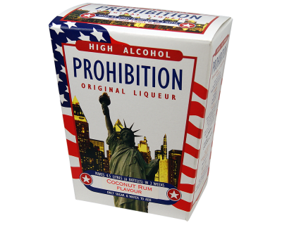 Prohibition Coconut Rum - High Alcohol Liqueur Ingredient Kit