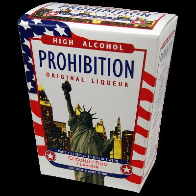 Prohibition Coconut Rum - High Alcohol Liqueur Ingredient Kit