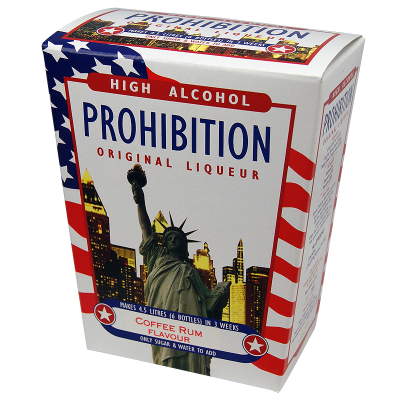 Prohibition Coffee Rum - High Alcohol Liqueur Ingredient Kit