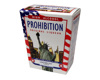 Prohibition Northern Mist - High Alcohol Liqueur Ingredient Kit