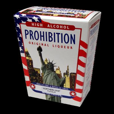 Prohibition Northern Mist - High Alcohol Liqueur Ingredient Kit