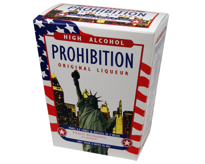 Prohibition Peach Schnapps - High Alcohol Liqueur Ingredient Kit