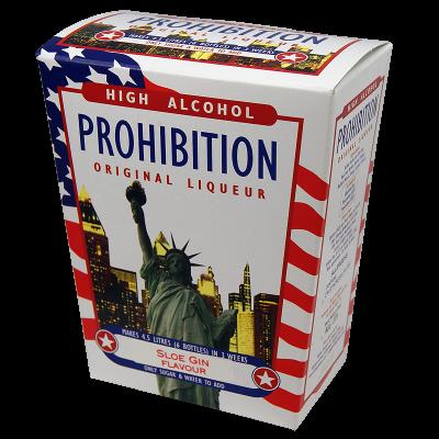 Prohibition Sloe Gin - High Alcohol Liqueur Ingredient Kit